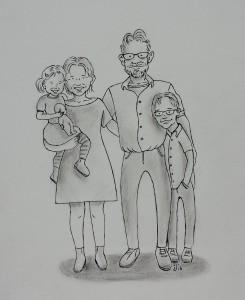 Caroline cartoon