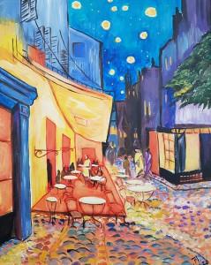 Van Gogh: Caféterras bij nacht