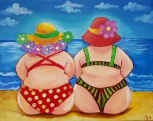 dikke-dames-op-het-strand-300x238