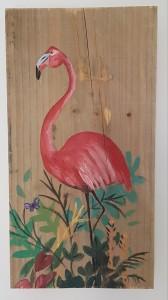 flamingo-op-steigerhout