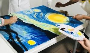 Van Gogh groepsuitje