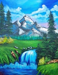 bob-ross-valley-waterfall